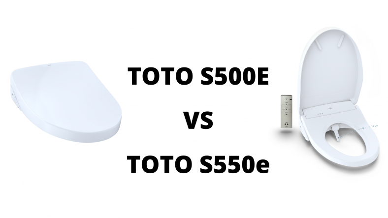 Toto S500e Vs S550e Bidet Toilet