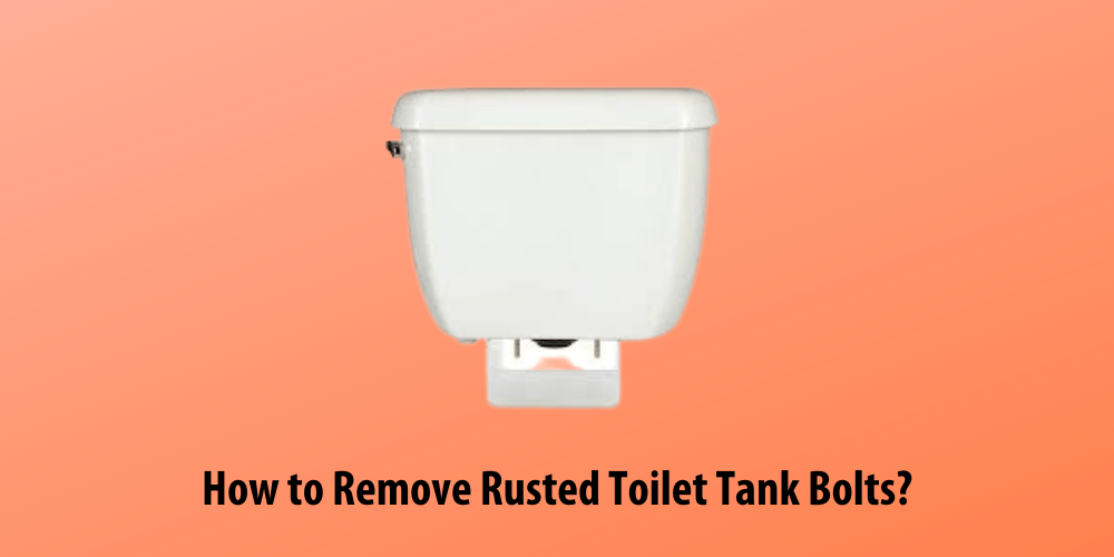 How to Remove Rusted Toilet Tank Bolts?