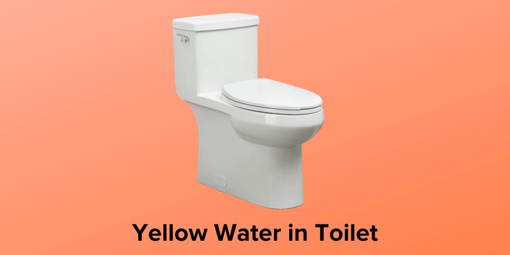 Yellow Water in Toilet