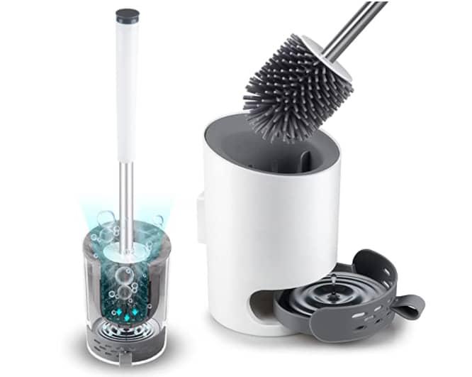 Domi-Patrol Toilet Brush and Holder set